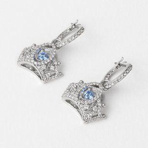 SWAROVSKI  QUEEN Crown Earrings